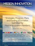 Strategies, Progress, Plans and Funding Information Submitted by Mission Innovation Members
